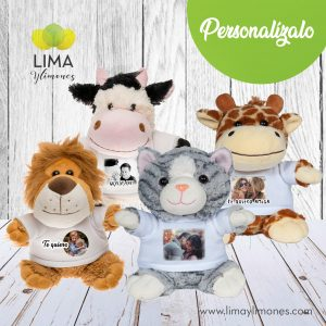 peluches personalizados animales